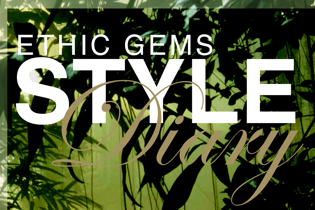 Ethic Gems Style Diary